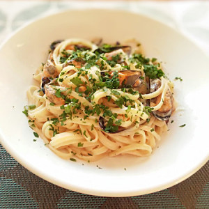 Linguine aux moules